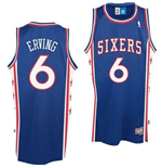 Camiseta Philadelphia 76ers #6 Julius Erving Soul Swingman