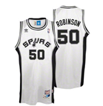 Camiseta adidas San Antonio Spurs #50 David Robinson Soul Swingman Home