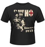 Camiseta The Who Zurich 72