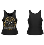 Camiseta de Suspensórios Black Veil Brides Decay