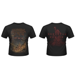 Camiseta Cannibal Corpse A Skeletal Domain 2