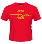 Camiseta Star Trek Ships Of The Line (Vermelha)