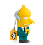 "Memória USB Os Simpsons ""Mr. Burns"" 8GB"