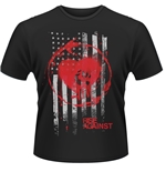 Camiseta Rise Against Stained Flag