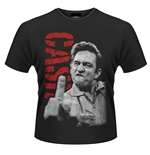 Camiseta Johnny Cash The Bird