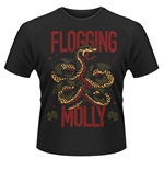 Camiseta Flogging Molly Snake