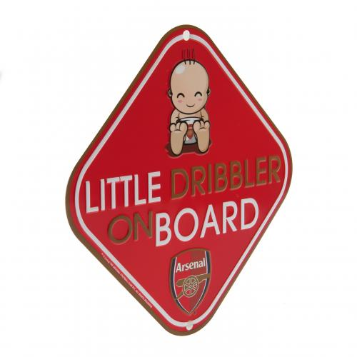 Placa de metal para Carro Arsenal