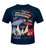 Camiseta Earth vs. the Flying Saucers 121171