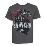 Camiseta Sons of Anarchy Reaper Blood SAMCRO