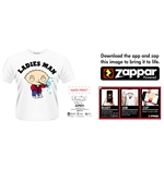 Camiseta Pai de Familia - Ladies Man (Zappar Friendly)