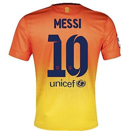 3f009af7323a4 Compra Camiseta FC Barcelona 2012-13 Nike Away (Messi 10) - de criança