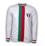 Camiseta vintage México Futebol Away WC 1982 Retro