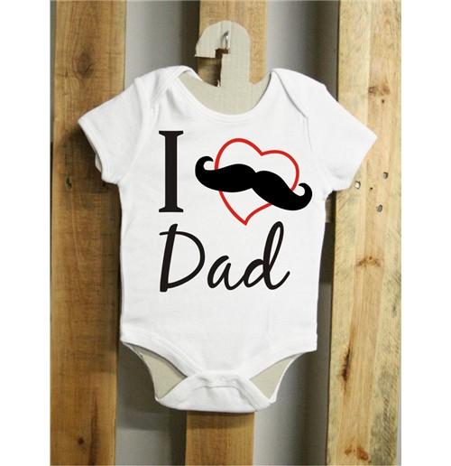 Body de bebê I love Dad Original  Compra Online em Oferta 0c61b75853a