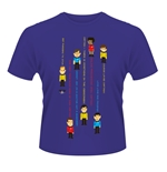 Camiseta Star Trek Guess The Trexel Purple