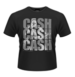 Camiseta Johnny Cash - Cash Cash Cash