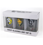 Metal Gear Solid Pack de 3 Copos de Copinho Set I
