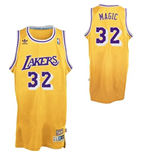 Camiseta adidas Magic Johnson Los Angeles Lakers Magic Soul Swingman Nickname