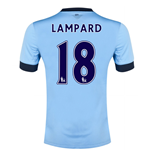 Camiseta Manchester City FC 2014-15 Home (Lampard 18)