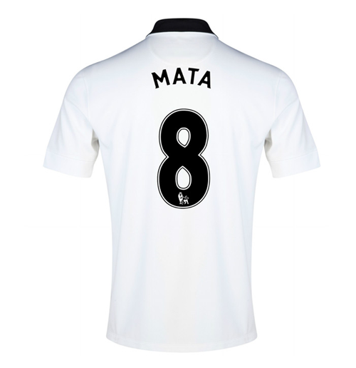 Camiseta Manchester United FC 2014-15 Away (Mata 8)
