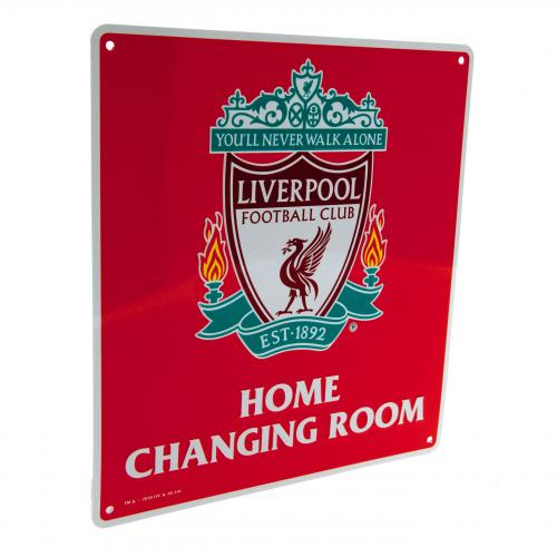 Placa Liverpool FC Home Changing Room