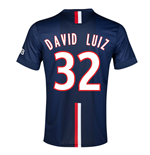 Camiseta Paris Saint-Germain 2014-15 Home (David Luiz 32)