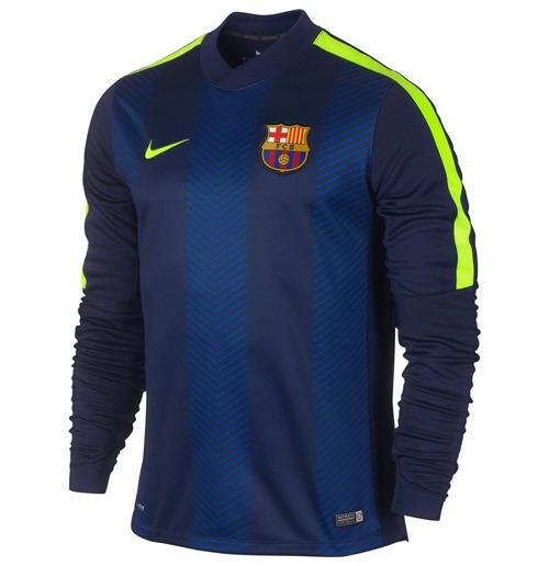 Compra Camiseta pré-partida FC Barcelona 2014-2015 Nike Original 087c534d58181