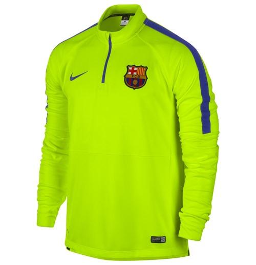 2374e5bdcfb4f Compra Camiseta de mangas longas FC Barcelona 2014-2015 Nike Squad