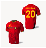 Camiseta Bélgica 2014-15 World Cup Home (Januzaj 20)