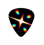 "Fender ""Heavy"" Guitar Pick - Delirium Tremens"