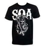 Camiseta Sons of Anarchy de homem SOA Reaper