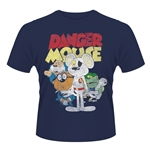 Camiseta Danger Mouse Gang