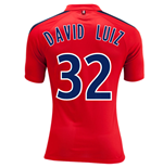 Camiseta Paris Saint Germain 2014-15 3rd (David Luiz 32) - de menino
