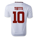 Camiseta  AS Roma 2014-15 Away (Totti 10) de menino