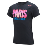 Camiseta Paris Saint-Germain 2014-2015 (Preto)