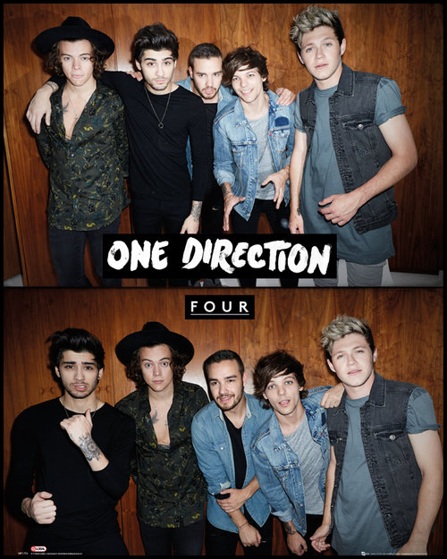 Póster One Direction Four