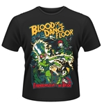 "Camiseta ""Blood On The Dance Floor"" rapresentando noiva Frankenstein"