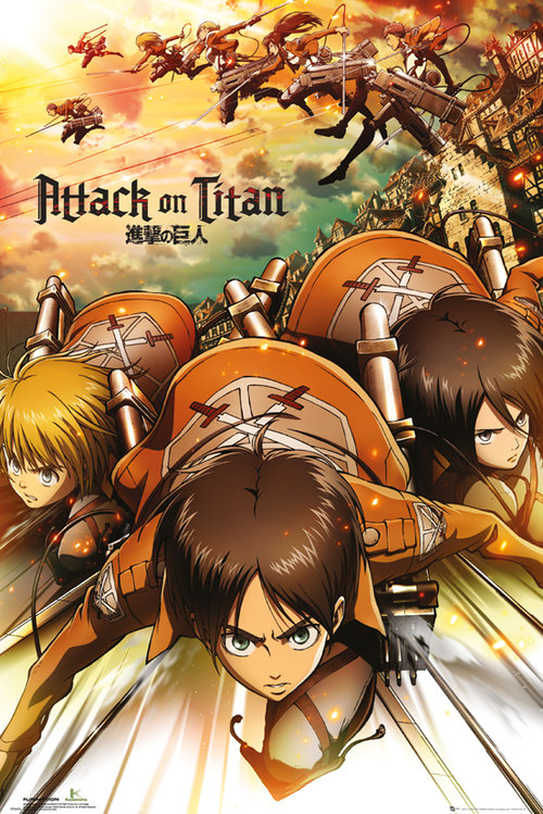 Maxi Póster Attack on Titan Attack