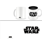 Star Wars Caneca Black Logo