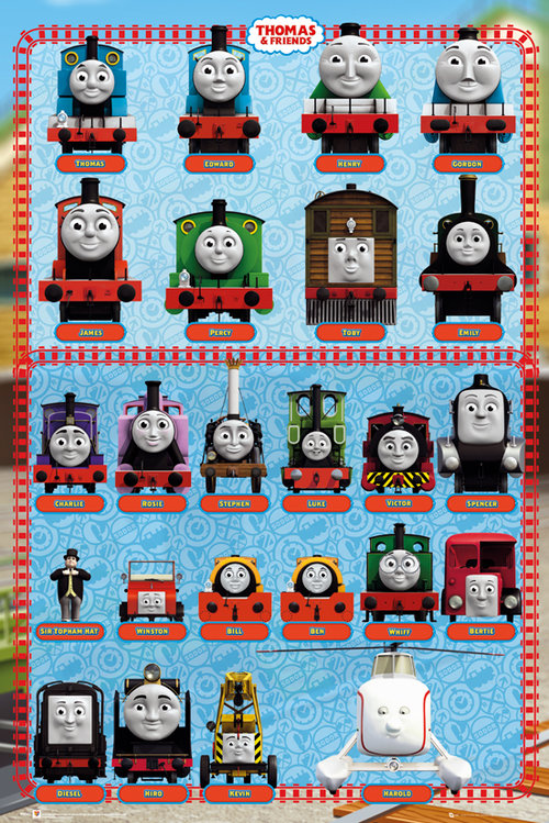 Poster Thomas and Friends 128645