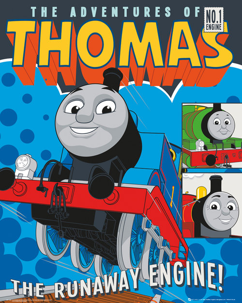 Poster Thomas and Friends 128646