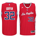Camiseta  Los Angeles Clippers Blake Griffin adidas Red New Swingman Road