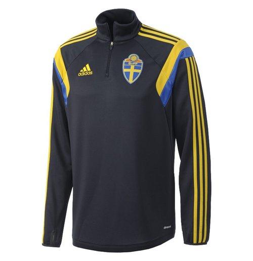 bac7bea4bf Jaqueta Suécia futebol 2014-2015 Original: Compra Online em Oferta
