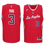 Camiseta Los Angeles Clippers Chris Paul adidas Red New Swingman Road