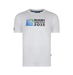 Camiseta Copa do Mundo de Rugby Union 2015 (Branco)