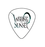 "Fender ""Heavy"" Guitar Pick - Wishing  The Sunset"