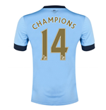 Camiseta Manchester City FC 2014/15 Home (Champions 14)