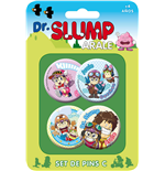 Broche Dr. Slump & Arale 132358