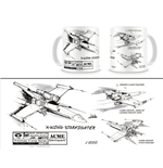Star Wars Caneca X-Wing