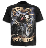 Camiseta Spiral Shut Up And Ride