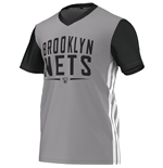 Camiseta Brooklyn Nets (Cinza)
